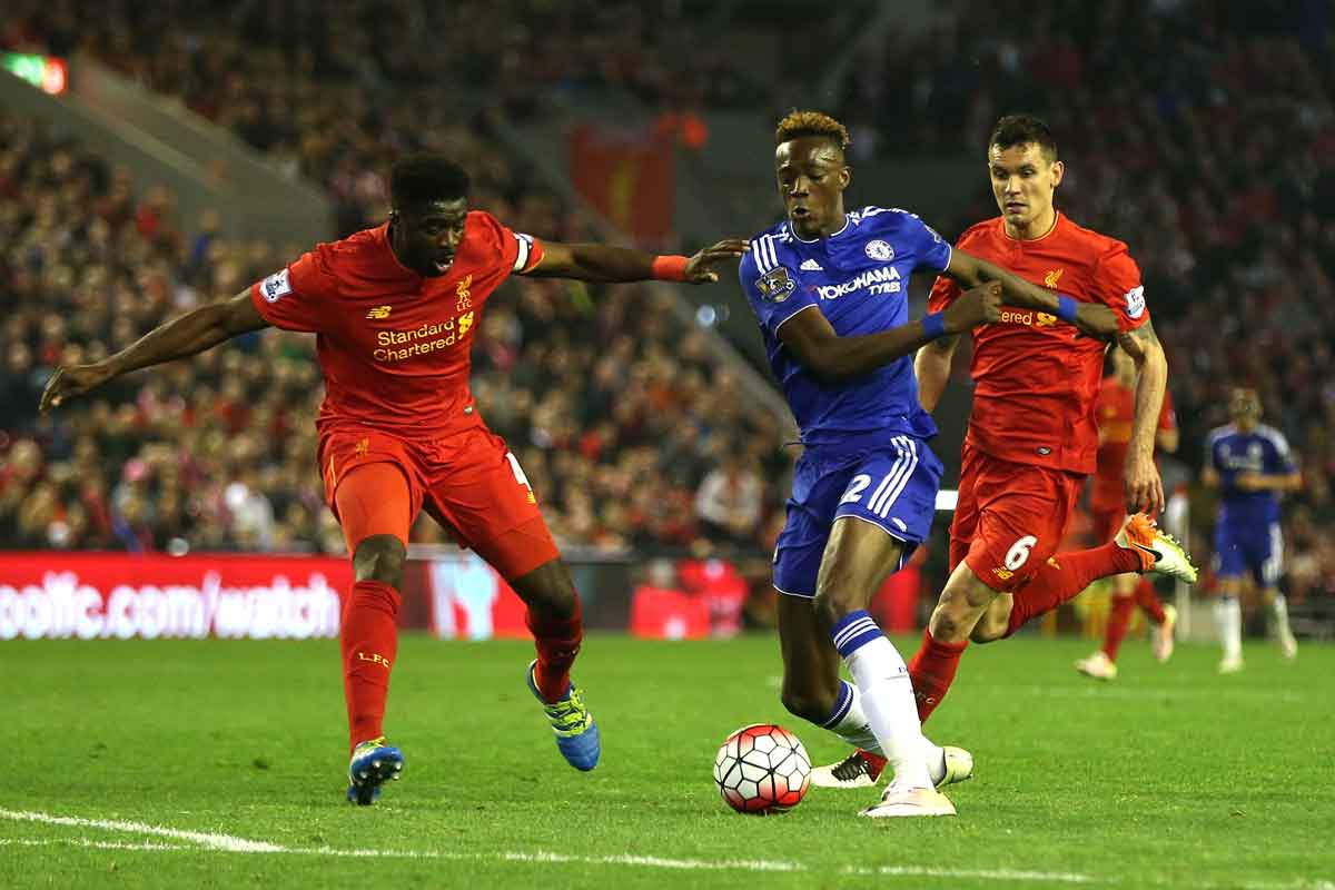Tammy Abraham makes his Chelsea debut against Liverpool