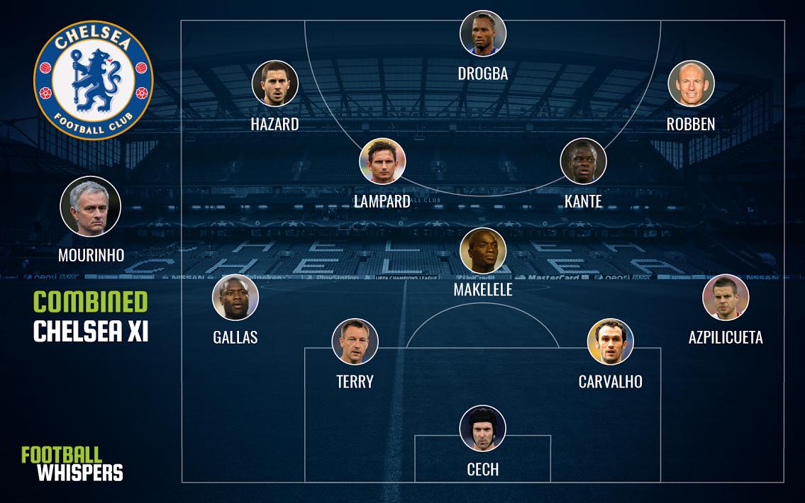 Chelsea's combined XI