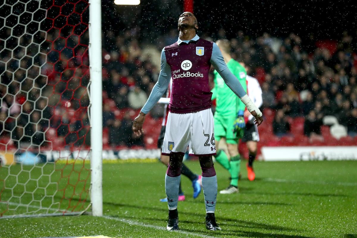 Jonathan Kodjia of Aston Villa
