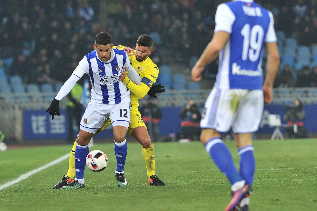 Real Sociedad v Villarreal - Copa del Rey