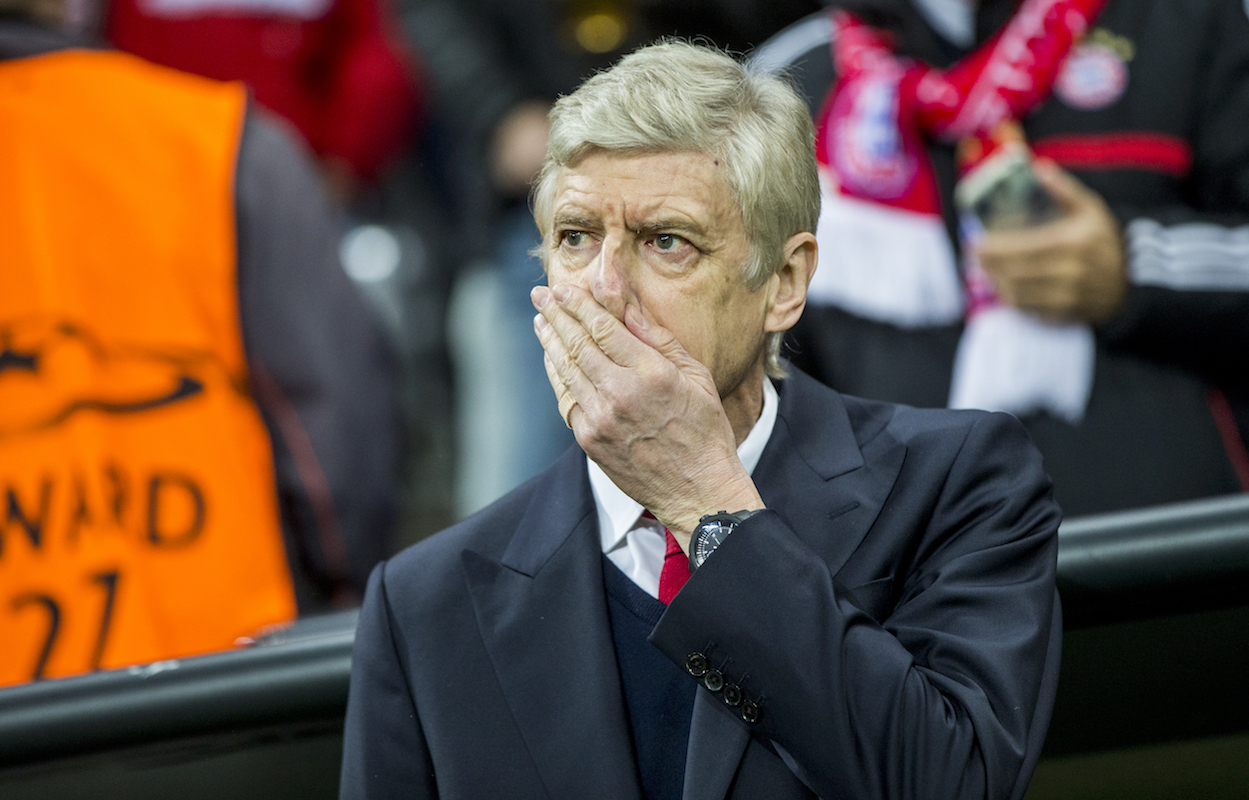Time for Arsene Wenger to say goodbye to Arsenal.