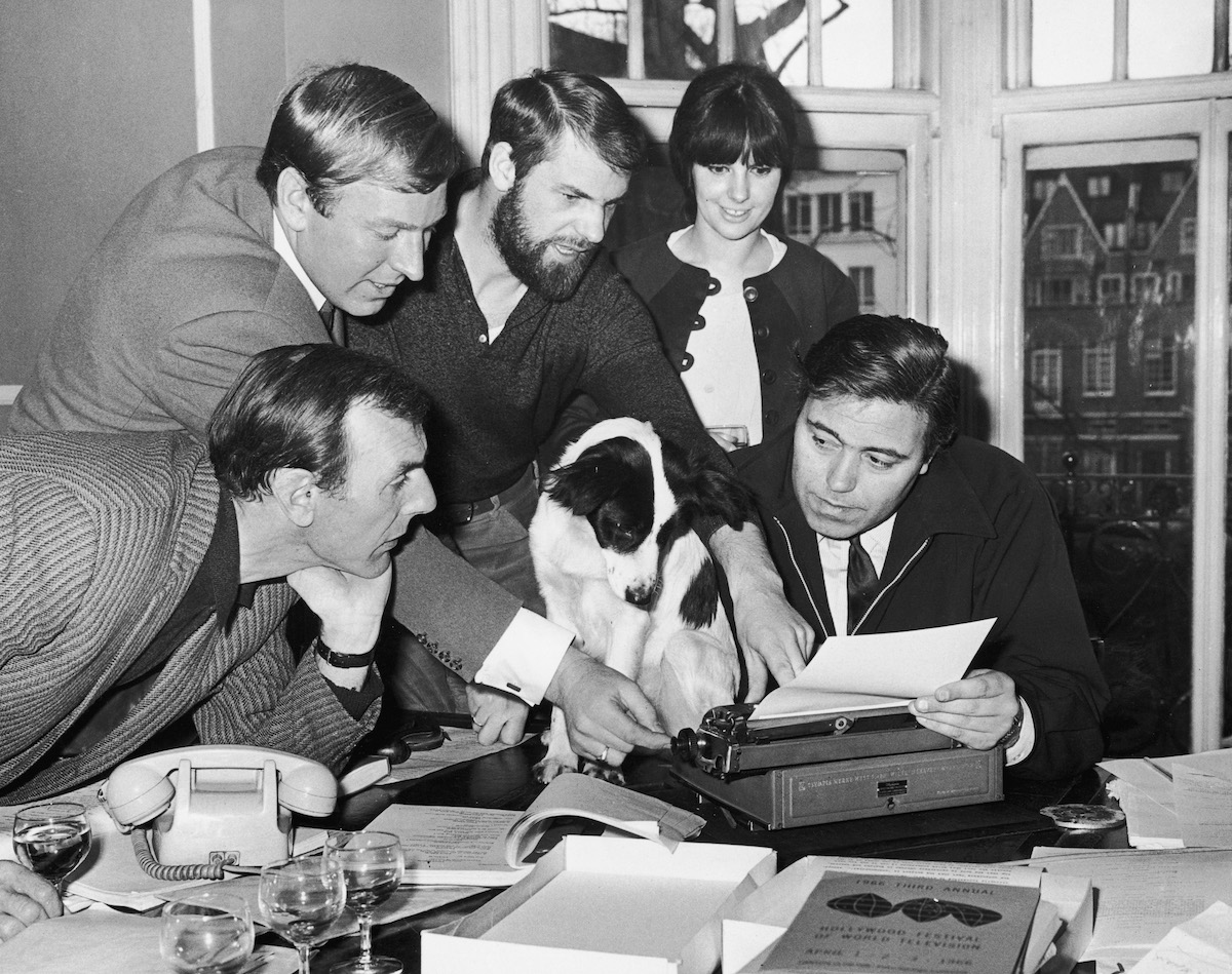 Pickles the Dog is offered a film role after finding the Jules Rimet Trophy ahead of the 1966 World Cup