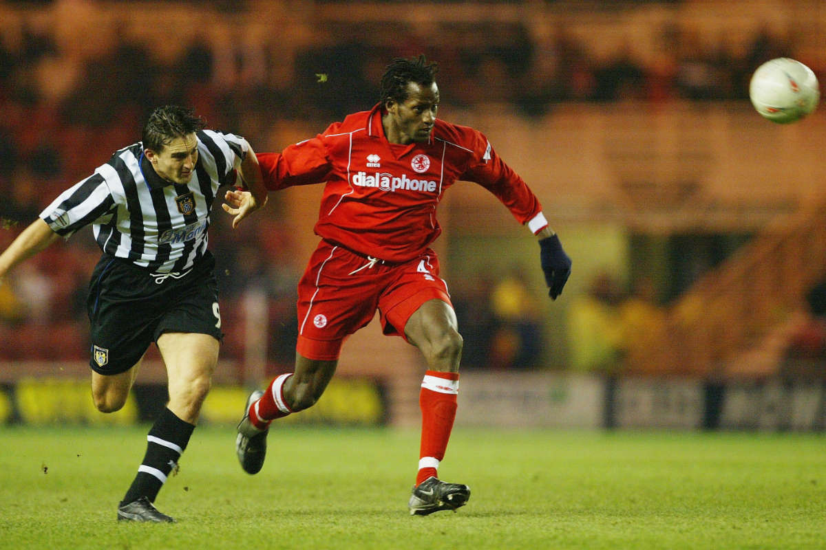 Ugo Ehiogu in action for Middlesbrough