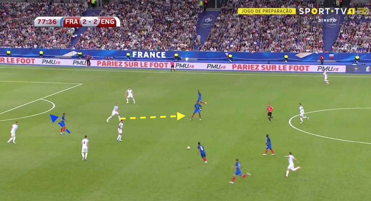 France deadly attack against England